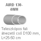 AERECO AIRD130-4WH Csatlakozó